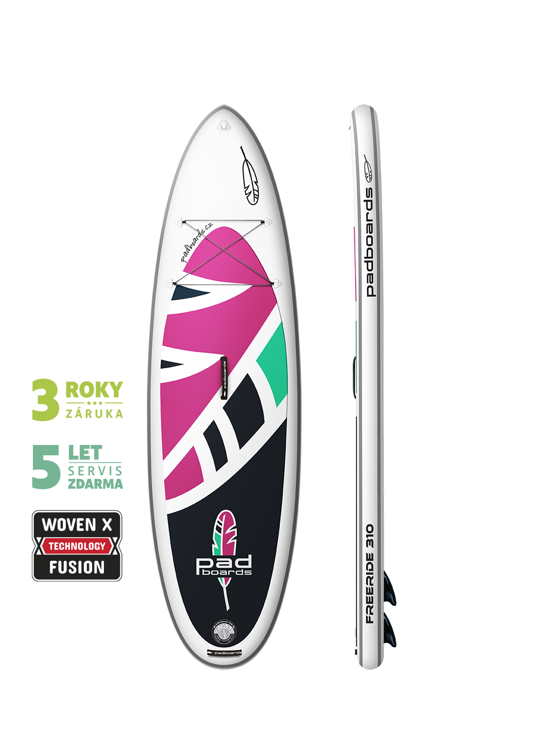 Paddleboard FREERIDE 310 woven X